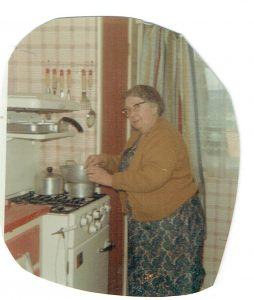 Nana was always in the kitchen
